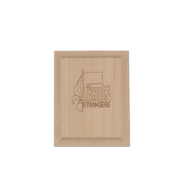 Holztafel klein Fremdenlegion