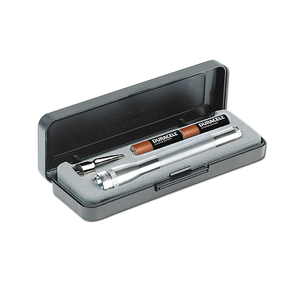 Micro Mag-Lite silber