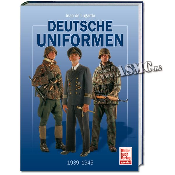 Buch Deutsche Uniformen 1939-1945