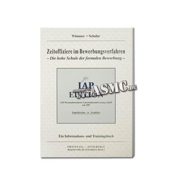 Buch Zeitoffiziere im Bewerbungsverfahren