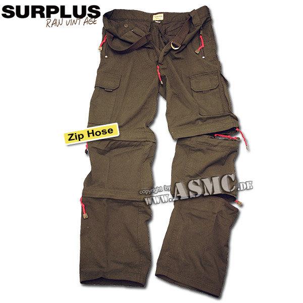 Hose Zip-Up schwarz