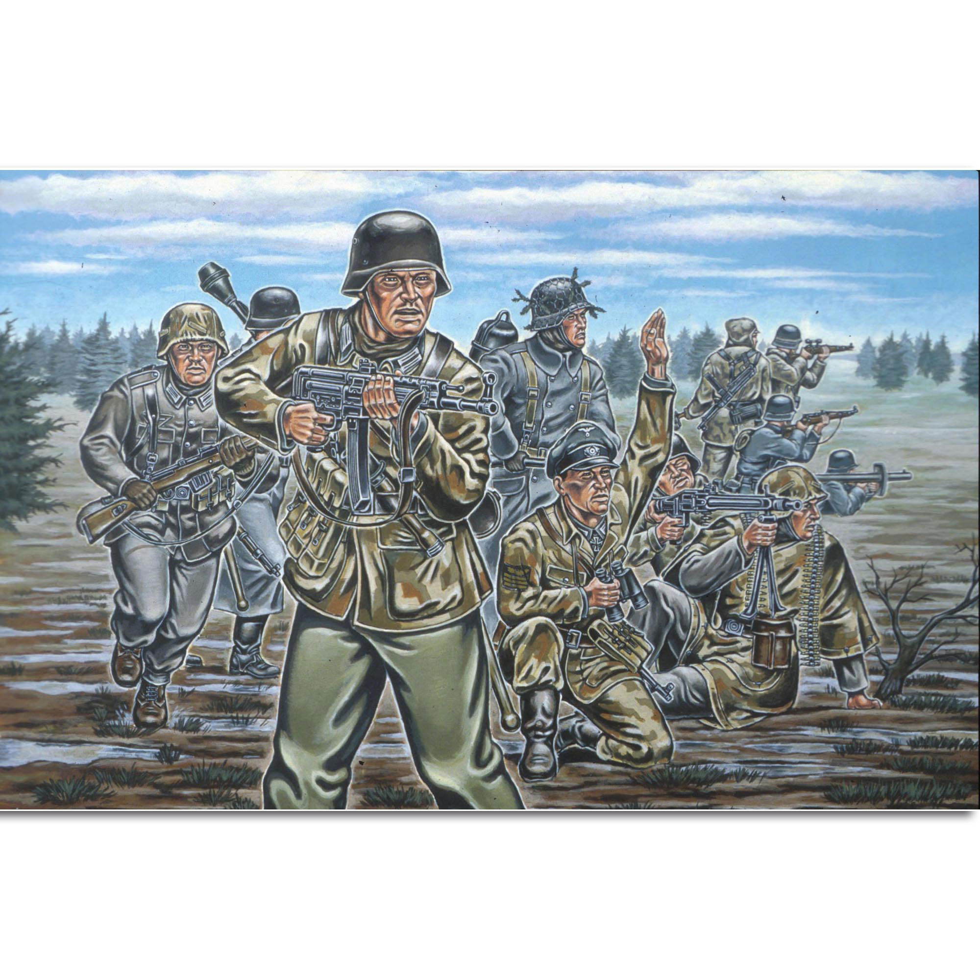 Revell Deutsche Infanterie WW II