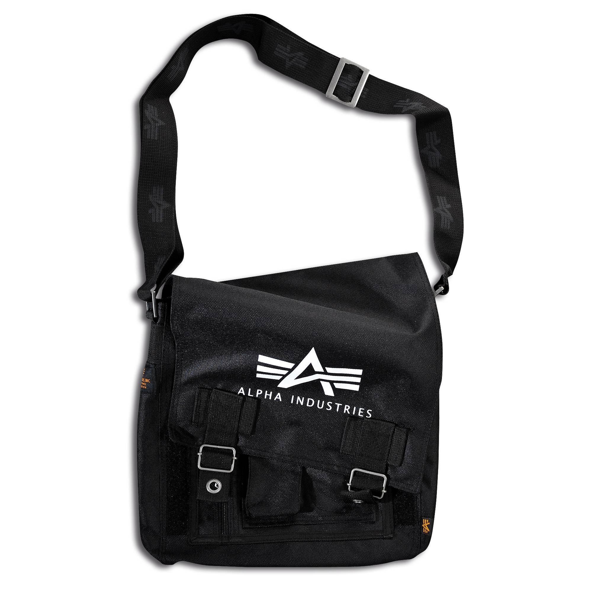 d296aa0c35 Alpha Industries Big A Oxford Utility Bag schwarz kaufen bei ASMC